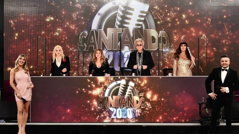 El jurado de esta quinta edición del Cantando está compuesto por Nacha Guevara, Moria Casán, Karina La Princesita y Pepito Cibrián,