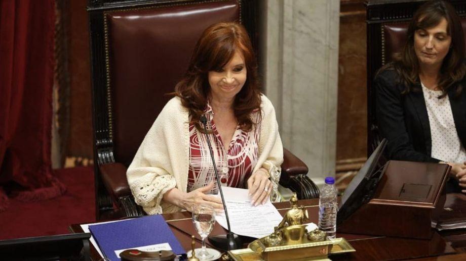CFK presidirá la sesión virtual, con una amplia agenda de temas.-