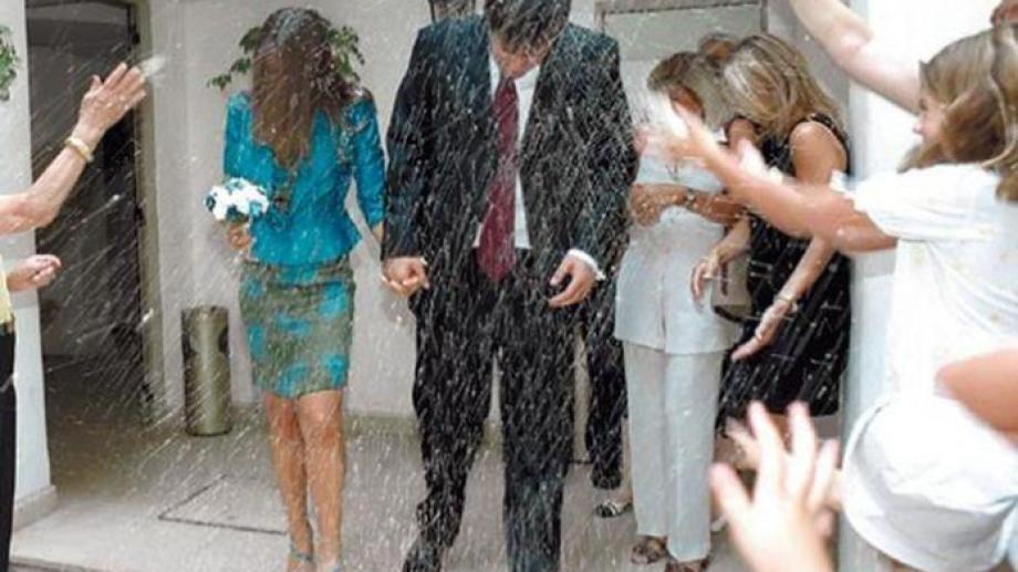 El casamiento de una pareja en Neuquén. Foto: archivo