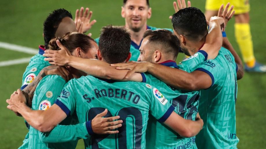 Messi y Griezmann forman la dupla de ataque. (Foto: AP)