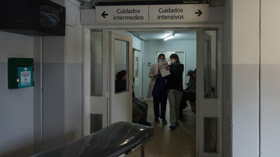 Bariloche tiene 1.480 personas contagiadas hasta el momento, según la información oficial. (foto Archivo)