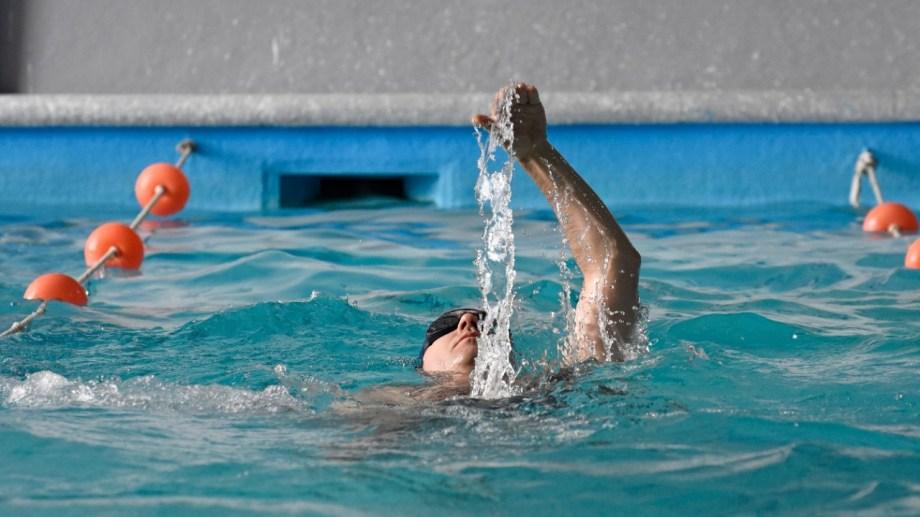Ayer abrieron gimnasios y natatorios (foto: Florencia Salto)