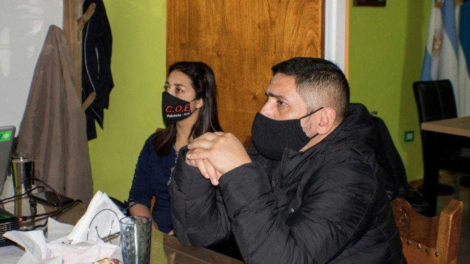 """Direne y Quinteros afirman que la medida que buscan implemente, """"responde a una necesidad de la población"""". (Foto: gentileza)"""