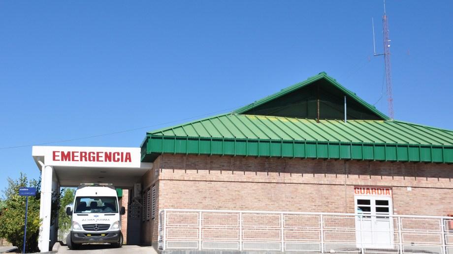 La guardia del hospital de Cutral Co y Plaza Huincul. Foto: Juan Thomes