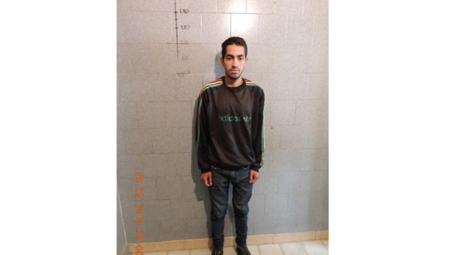 Infante estaba detenido con prisión preventiva en la Comisaría de Huergo, de la cual fugó. (Foto gentileza)