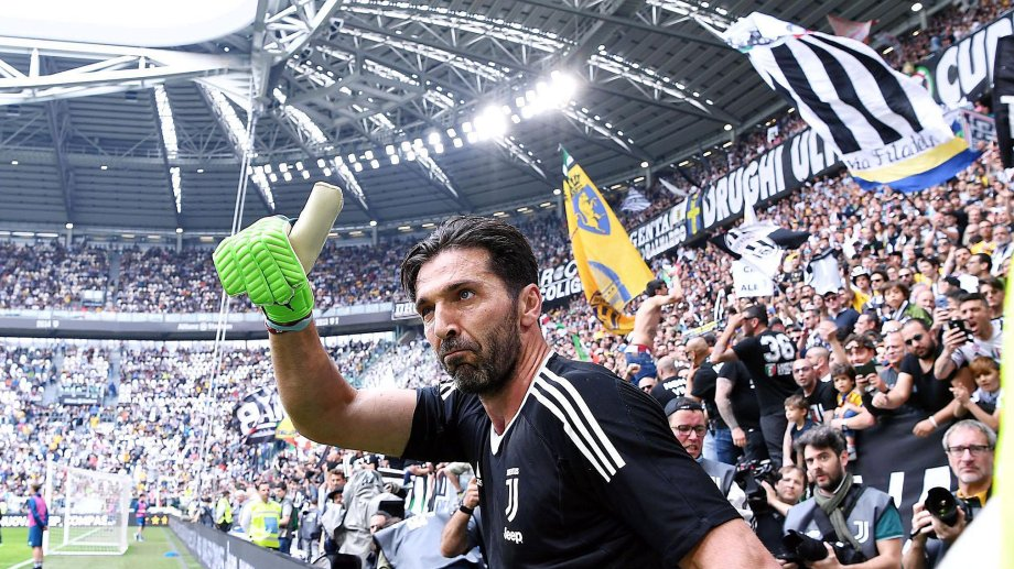 Buffon es el jugador que más partidos disputó en la historia de la Serie A.