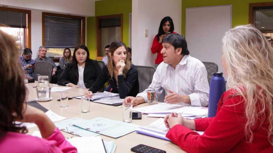 El concejal Luis Durán (Frente y la Participación Neuquina)