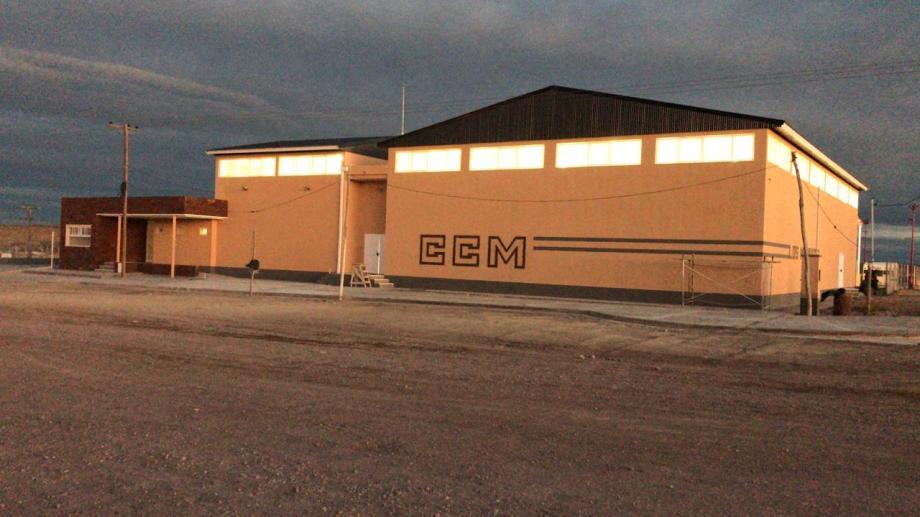 El Nodo de Transporte esta ubicado en el acceso este a Los Menucos (Foto: gentileza)