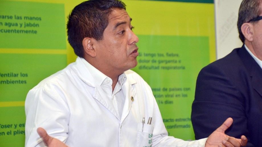 El director del hospital de Regina continuar en autoaislamiento hasta el lunes. (Foto Néstor Salas)