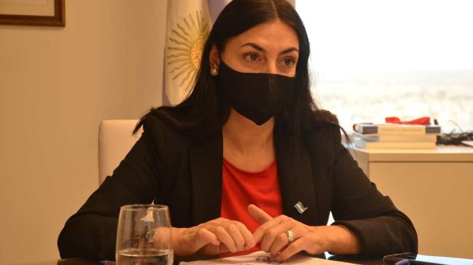 """La ministra de Salud de Neuquén repudió el hecho y lo calificó como """"inaceptable"""". Foto: archivo Yamil Regules."""