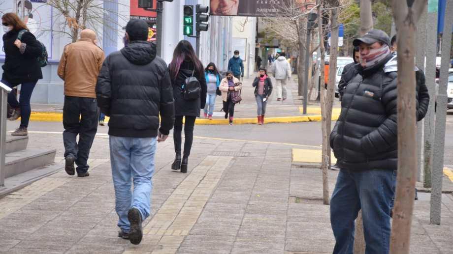 En Neuquén capital hay circulación comunitaria del virus.  Foto: Yamil, Regules