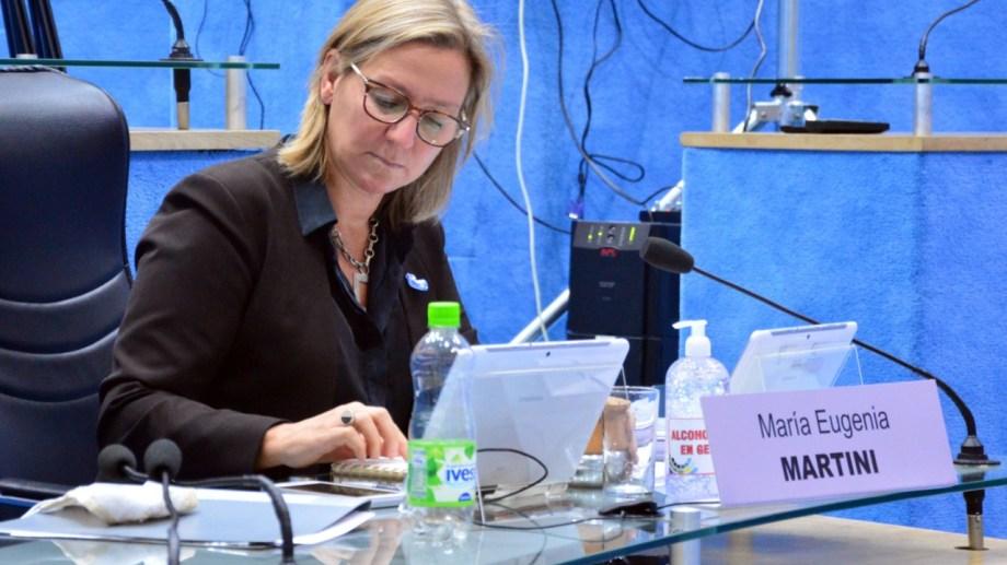 El bloque de legisladores que preside María Eugenia Martini pidió imitar las señales recientes del gobierno nacional. (Foto: Archivo)