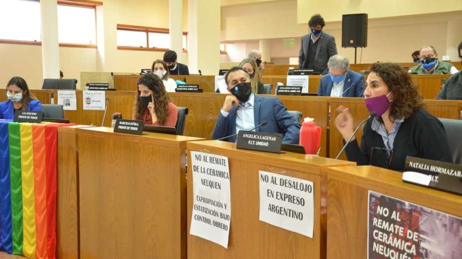 Los concejales de Neuquén recibieron a las 14 el proyecto del Ejecutivo (Archivo Yamil Regules)