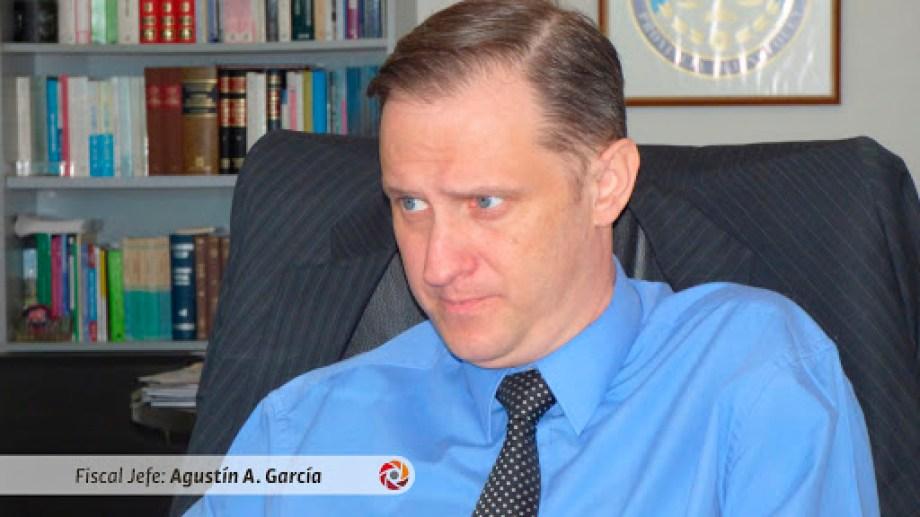 Fiscal jefe Juan Agustín García (Gentileza)