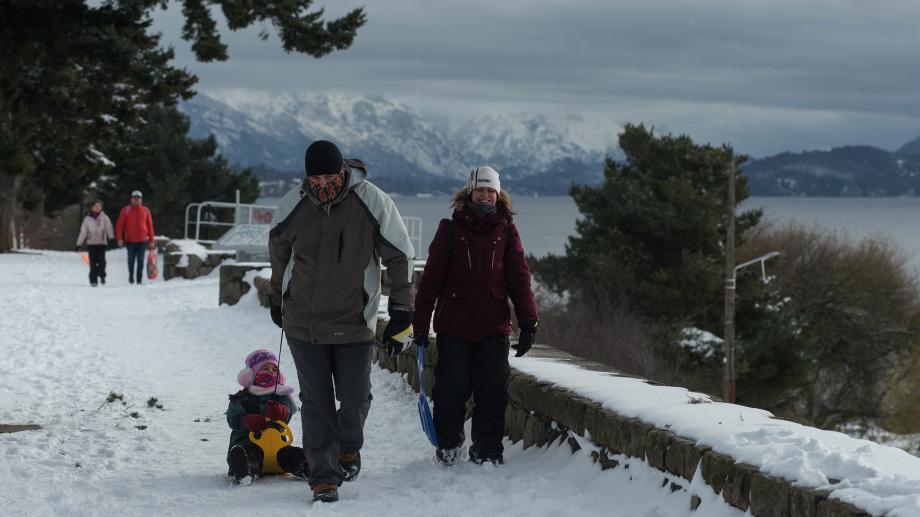 Bariloche está preparada para la temporada de invierno y espera la fecha de apertura del esquí. Archivo