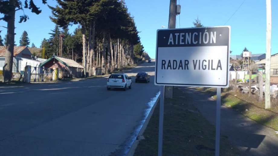 Los radares que se instalarán en Bariloche controlarán velocidades y enviarán fotomultas. Foto: Gentileza