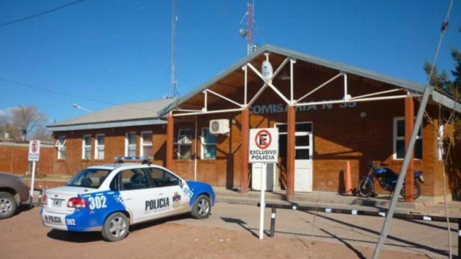La comisaría recibió el llamado poco antes de las 23 del viernes. (Archivo)