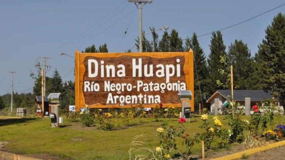 Dina Huapi tiene 6.000 habitantes. Foto: archivo