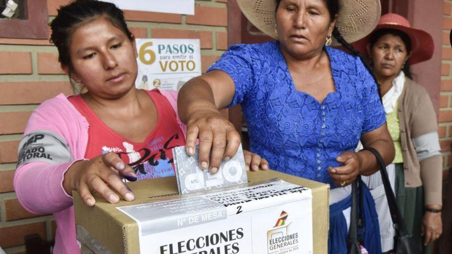 Elecciones de 2019 en Bolivia.-