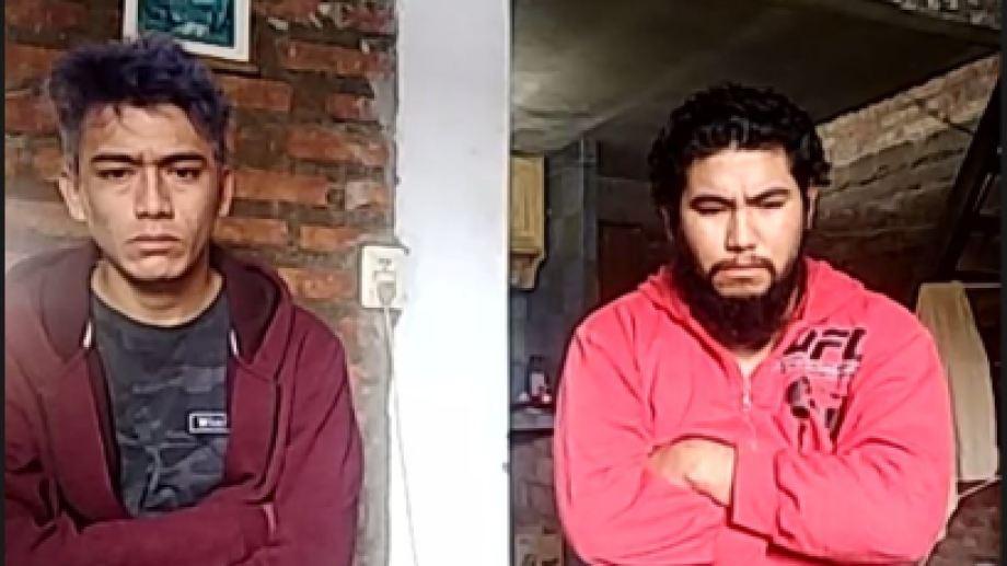 Matías, a la izquierda, fue sobreseído. Fernando irá a juicio por homicidio y lo investigan por abuso.
