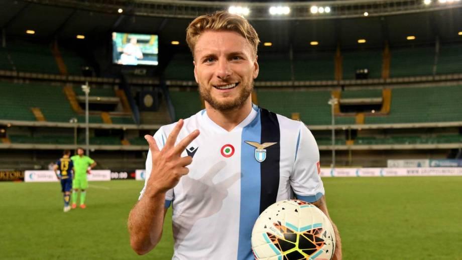 El italiano le metió 3 a Hellas Verona y está a un paso de hacer historia.