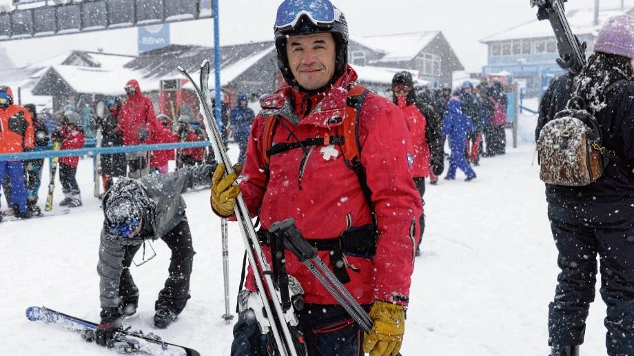 Mario Ruiz, un especialista en seguridad en la montaña (Archivo)