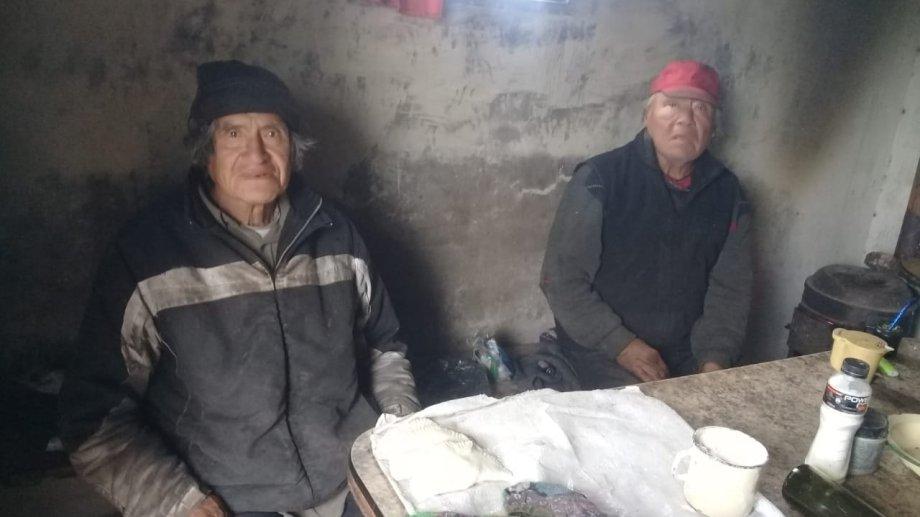Los pobladores reciben asistencia del Estado. (foto: gentileza)
