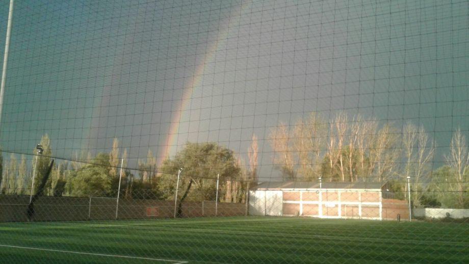 El Complejo parque Deportivo de Catriel