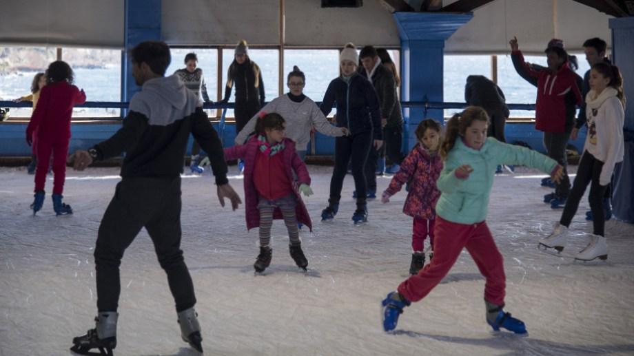 La pista de patinaje del puerto San Carlos cerró por los efectos de la crisis del coronavirus. Archivo