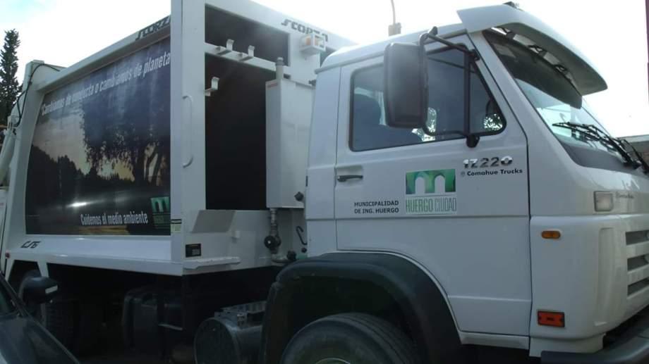 En Huergo, Godoy y Regina habrá servicio de recolección de residuos hoy y mañana.