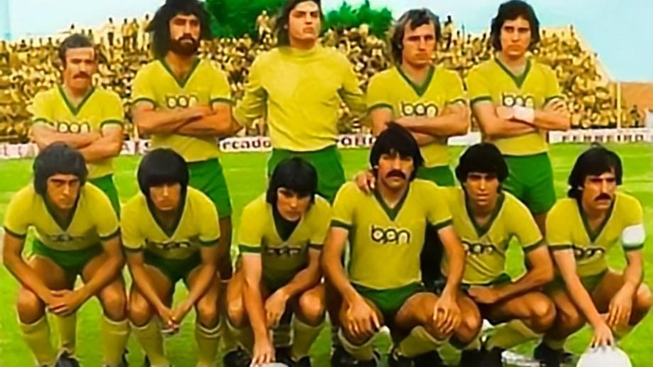 El equipo de Unión del 79 que fue campeón a nivel local y jugó el clasificatorio con el rojo neuquino.