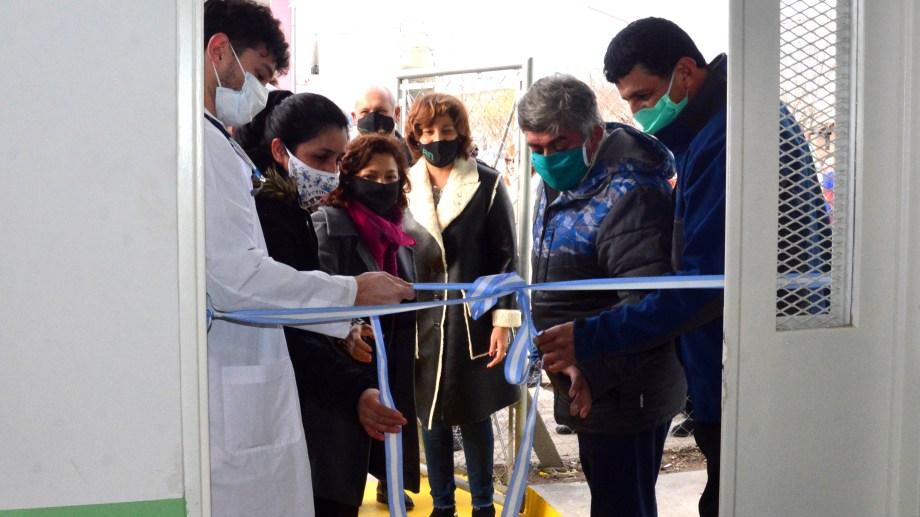 El nuevo centro está ubicado en el barrio Patagonia. Foto: Marcelo Ochoa.