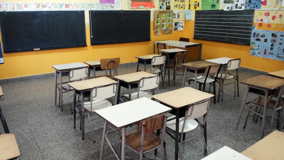 El regreso a las escuelas en la provincia será analizado, entre otros temas, el próximo lunes. Fotos: Marcelo Ochoa.
