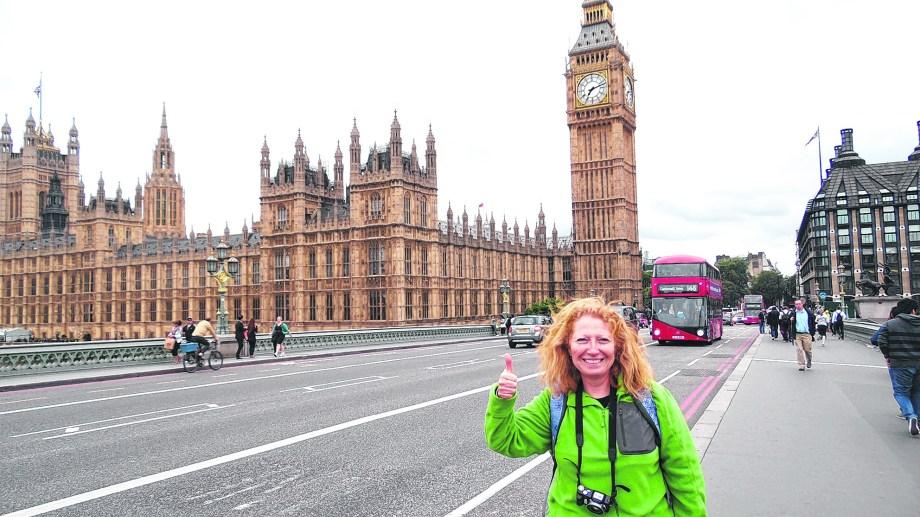 Se enamoró de Inglaterra a partir de una foto del Big Ben y viajó a cumplir dos sueños.
