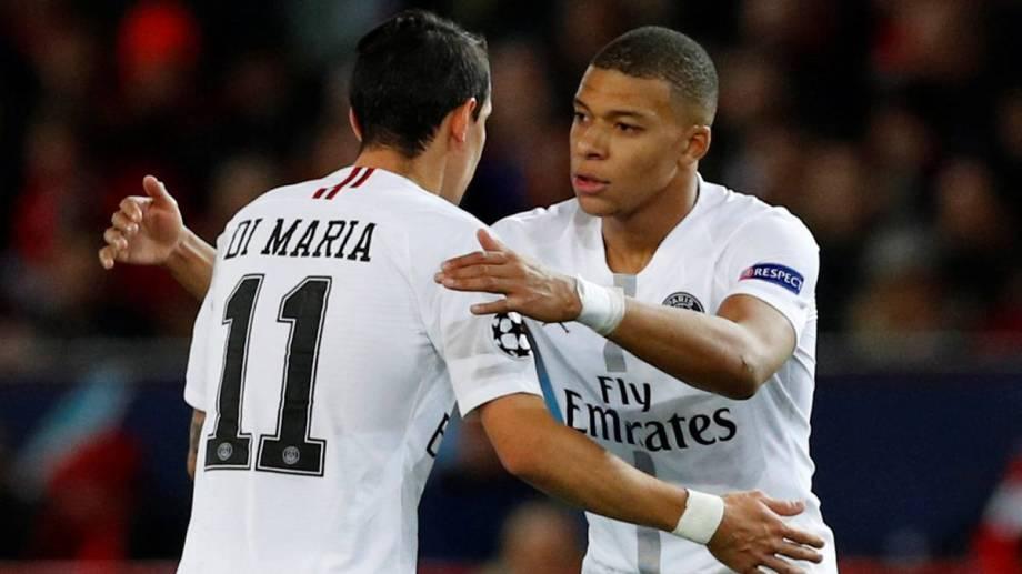 Para el gran duelo de hoy, el PSG recupera a Di María y Mbappé.