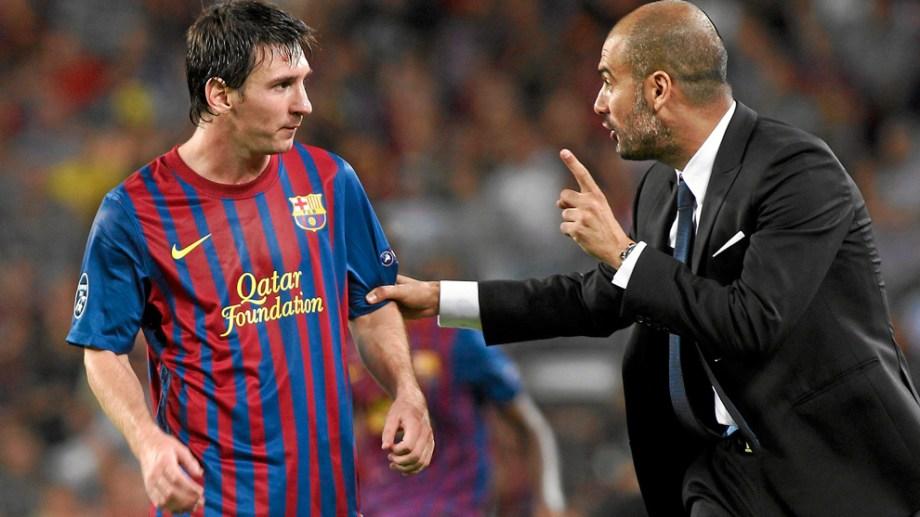 El Manchester City podría volver a juntar a Messi con Guardiola.
