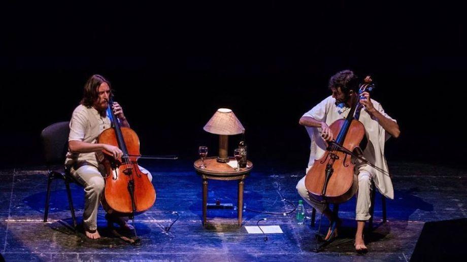 """El dúo reformuló parte del proyecto """"Danzas Argentinas Vol. 14"""", interrumpido por la cuarentena. (Foto: gentileza Erica Ferrer)"""