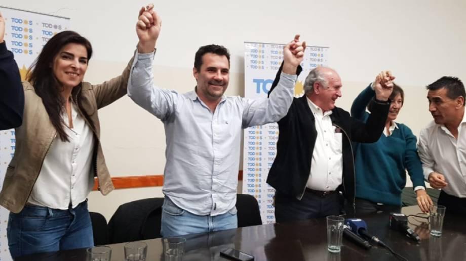 Asunción Miras Trabalón fue la compañera de fórmula del ahora secretario de Energía Darío Martínez. (Prensa partidaria)