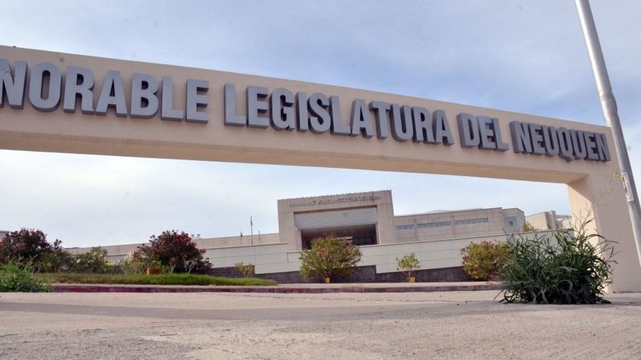 La Legislatura de Neuquén. Foto: Yamil Regules