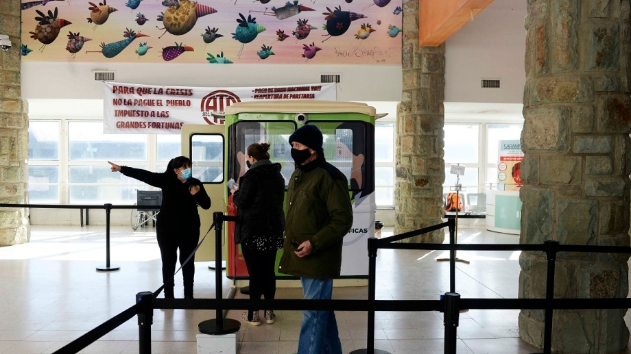 En el hospital Ramón Carrillo se concentra la atención de personas con coronavirus y se realizan los hisopados. Foto: Archivo
