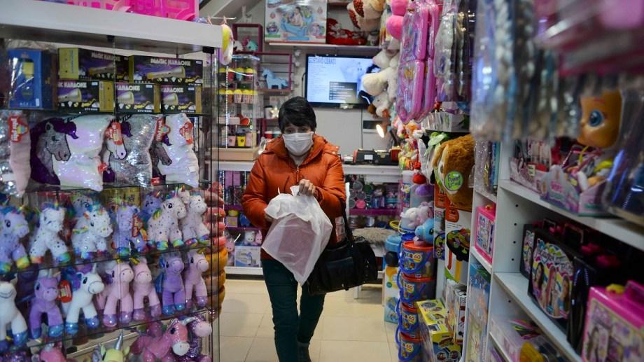 Las jugueterías se preparan para el Día del Niño que se celebra el próximo domingo. Foto: Alfredo Leiva