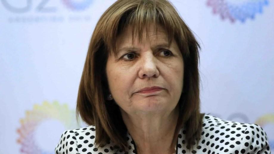 Bullrich, presidenta del PRO.