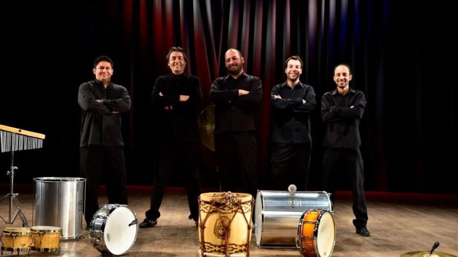 El Ensamble de Percusión de FCP participará del Primer Festival Internacional de Percusión Colpas.