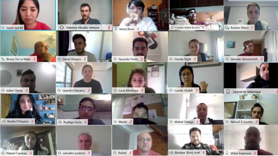 La firma reunió a más de 150 estudiantes y profesionales de diversos países. (Foto: gentileza)