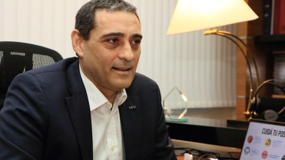 El vicepresidente de Upstream No Convencional de YPF, Pablo Iuliano.
