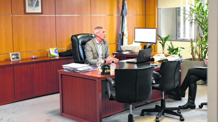 Ministro de Economía de Neuquén, Guillermo Pons. Foto: archivo Florencia Salto.