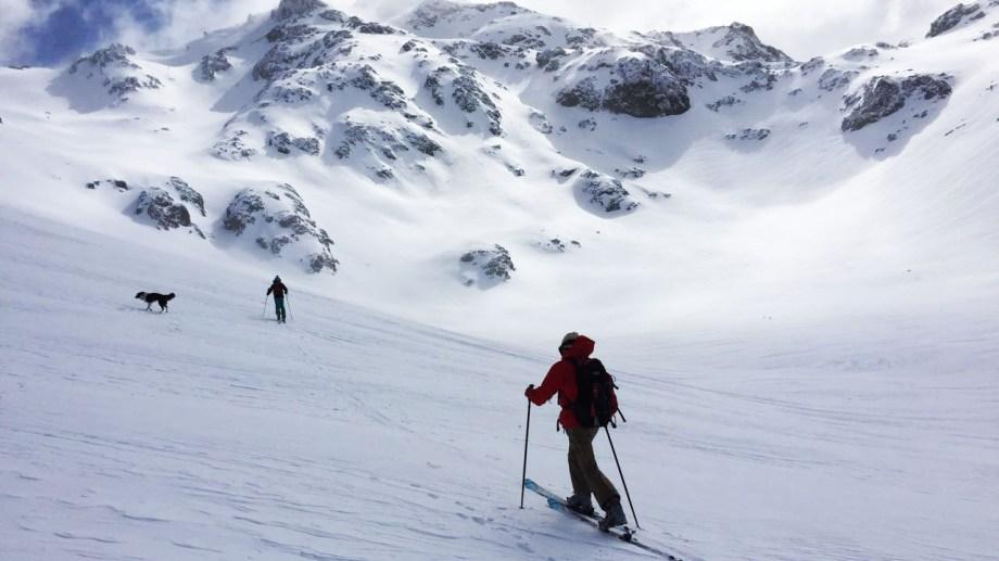 Esquí de travesía en la inmensa soledad, el sueño que tiene un alcance para pocos. Foto: Gentileza