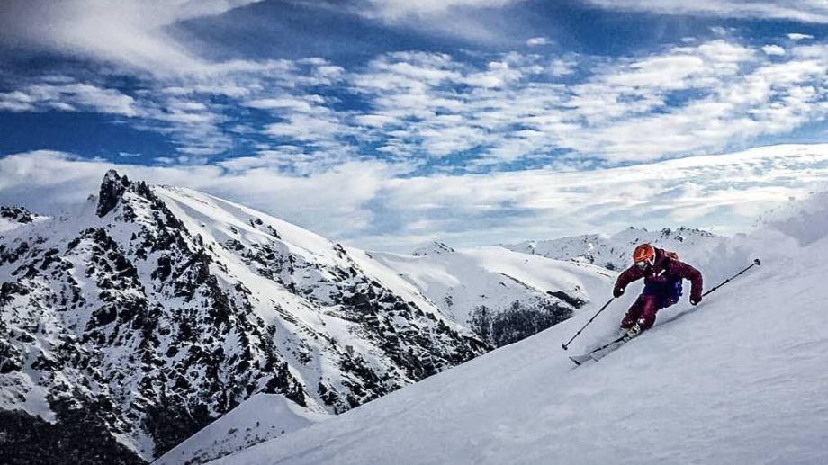 En el complejo Baguales, a 60 kilómetros de Bariloche, se produjo una avalancha fatal en septiembre. Archivo