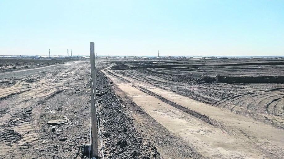 """Hay """"vacíos urbanos""""  en la meseta y en Alta Barda donde la Municipalidad busca ingresar al plan nacional de construcción con edificios de hasta cuatro pisos. (Yamil Regules).-"""