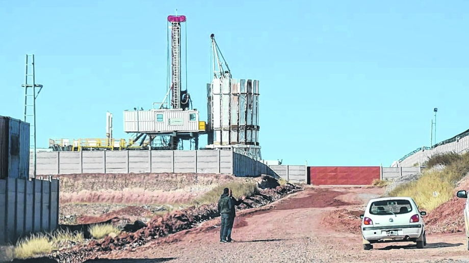 El precio del barril criollo motorizó la actividad petrolera en la provincia. (Oscar Livera)